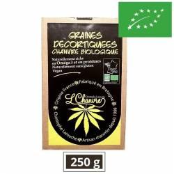 Graines de chanvre bio décortiquées – L'Chanvre