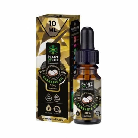 Huile de CBD 20% Plant of Life - huile de cannabis